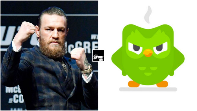 """Time for YOUR lesson!"" - Conor McGregor calls out Duolingo owl"