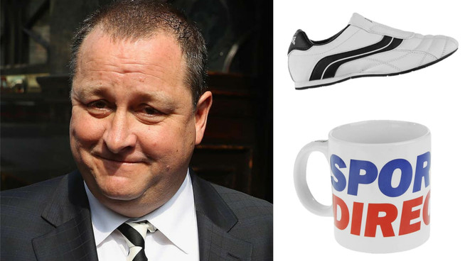 Mike Ashley: Lonsdale trainers and massive mugs are essential