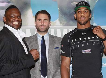 Anthony Joshua signs 10-fight deal with Dillian Whyte