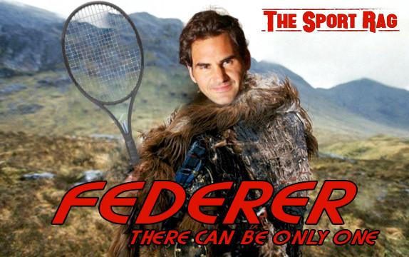Roger Federer completes tennis!