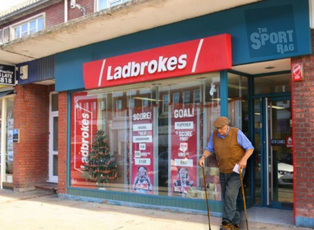 Man leaves Ladbrokes for first time in 43 years after horse racing cancelled