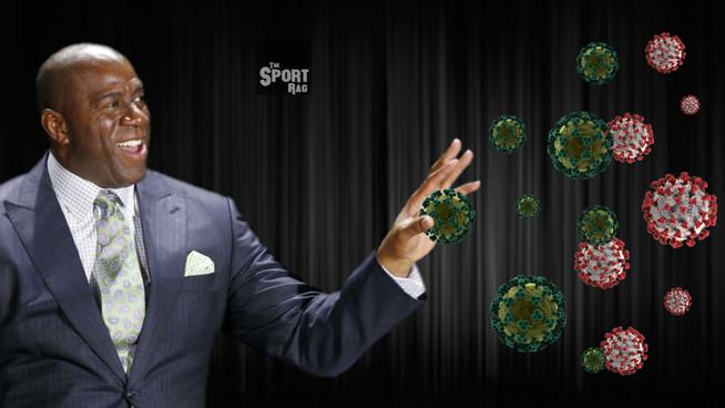 Magic Johnson catches coronavirus, gives it HIV