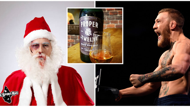 Santa Mercilessly Beaten by Conor McGregor After Refusing Cookies and Proper Twelve