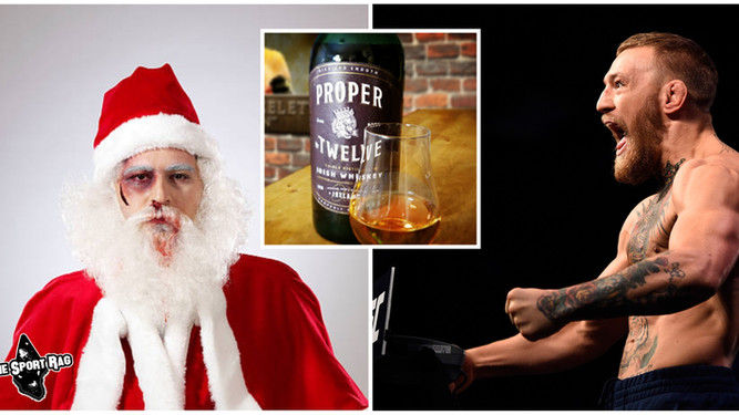 Santa Mercilessly Beaten by Conor McGregor After Refusing Cookies and Proper Twelve