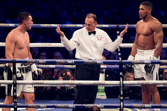 Joshua vs Parker referee to become Joshua's full-time bodyguard