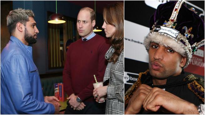 Amir Khan drops 'King' nickname as he steps back from boxing duties