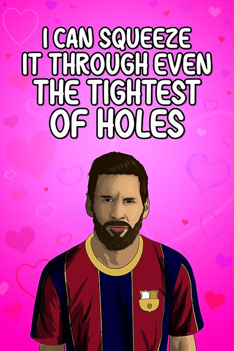 Lionel Messi - Holes