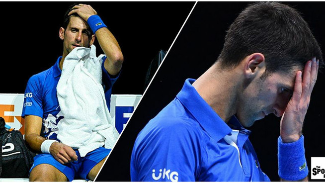 Djokovic defaulted from ATP Finals after kicking ball boy in the crotch