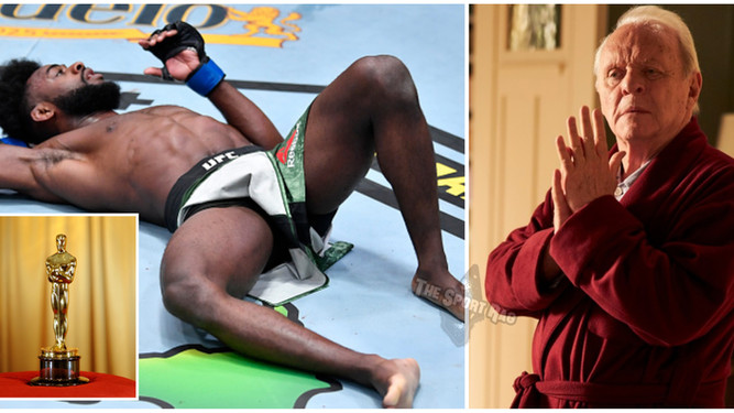 Aljamain Sterling snubbed at Oscars, loses to Anthony Hopkins