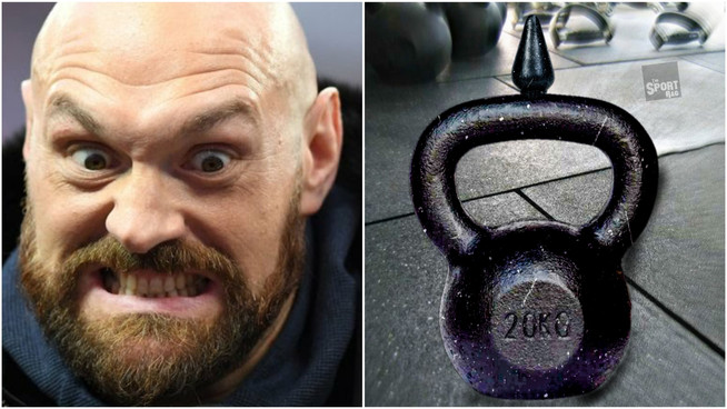 """Fury using """"Kettleplug"""" to strengthen legs for Wilder rematch"""