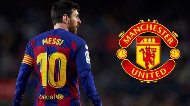 Could Lionel Messi be heading to Man Utd?