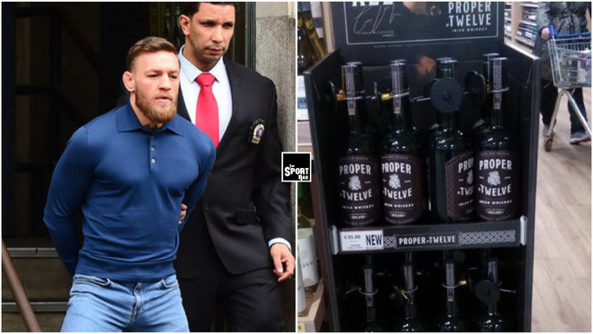 Conor McGregor assaults shoppers for not panic buying Proper Twelve