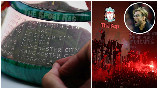 Liverpool fans FURIOUS as asterisk engraved on Premier League trophy