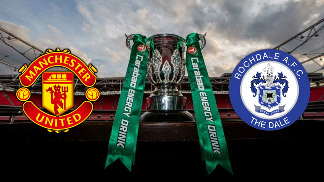 Rochdale not overlooking 'massive underdogs' Man United