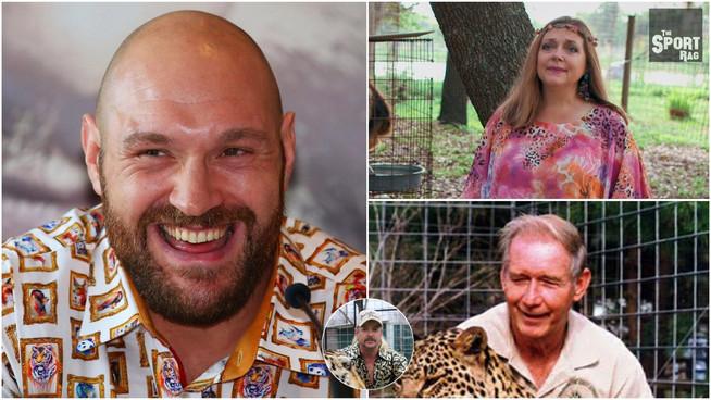 Did Tyson Fury KILL Carole Baskin's husband? A Wilder fan investigates