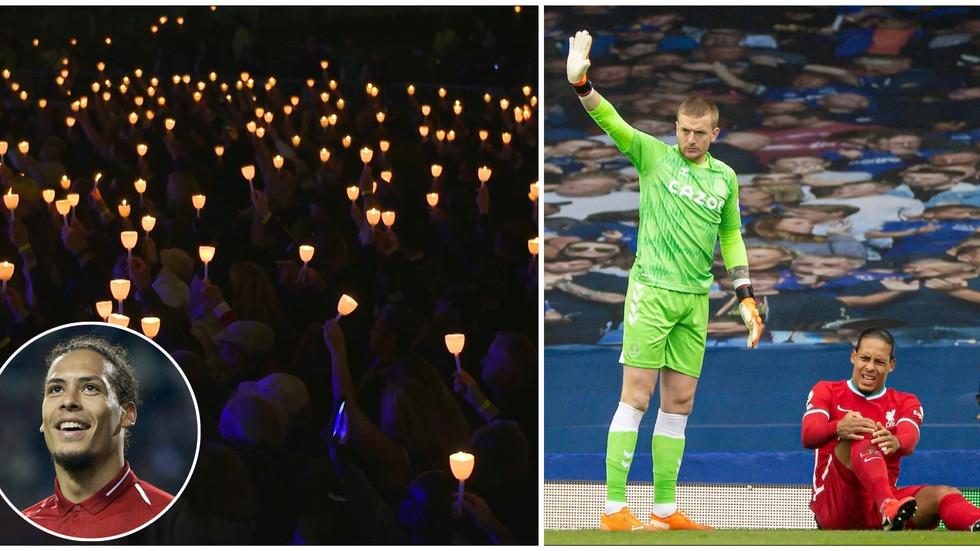 Liverpool to hold candlelight vigil for injured Van Dijk