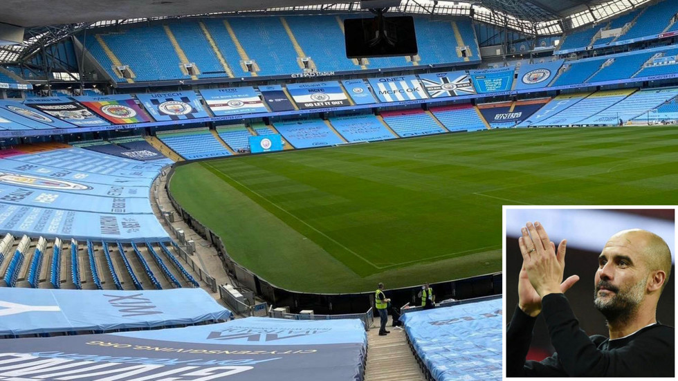 Guardiola praises Man City fans after failing to notice their absence