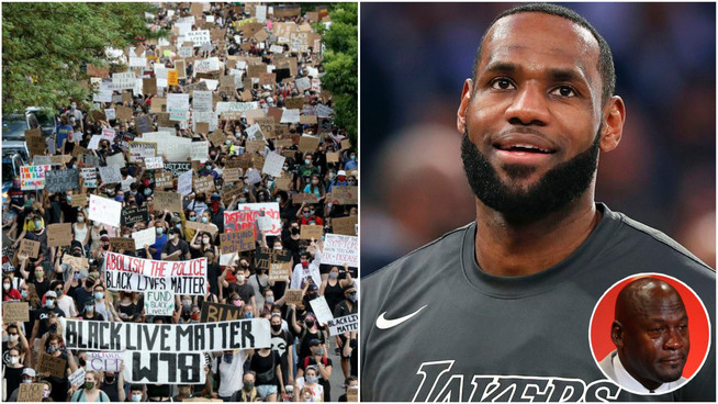 LeBron pledges $100,000,001 in fight for racial equality