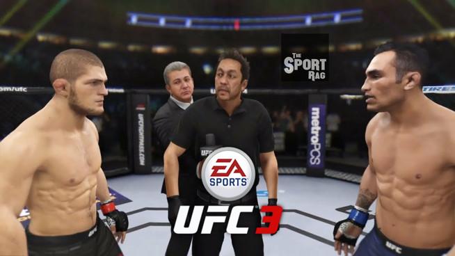 Dana White: Khabib-Ferguson will go ahead on UFC 3 video game