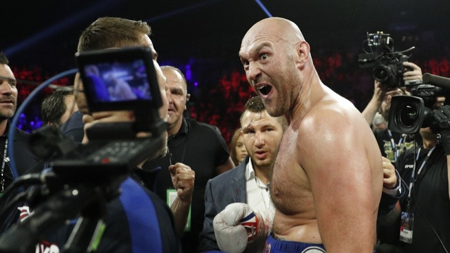 Tyson Fury DISTRAUGHT after misplacing lineal belt before remembering it doesn't exist