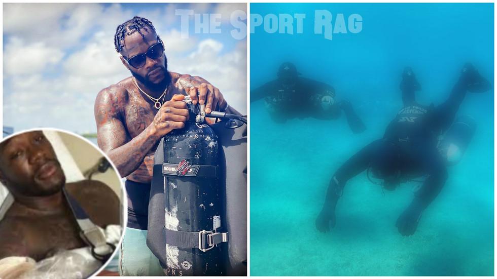 Deontay Wilder nearly drowns in scuba gear incident