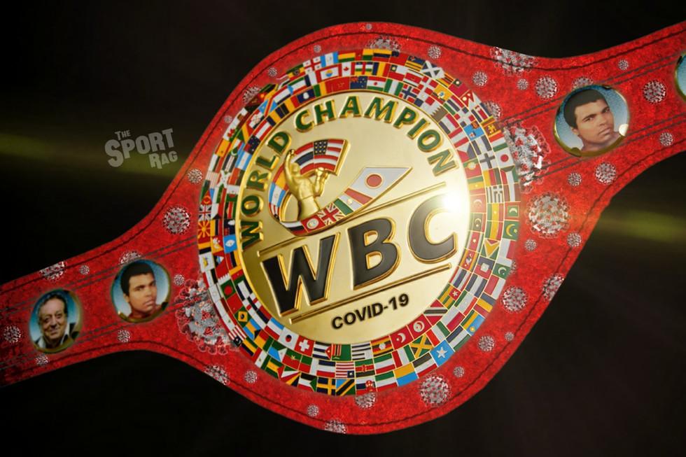WBC unveil special 'COVID-19 Belt'