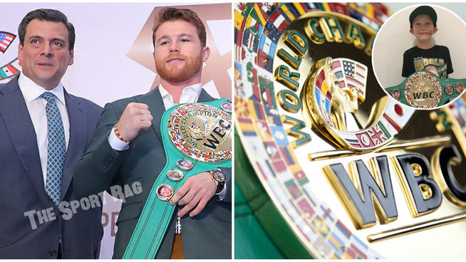 "Canelo made Bridgerweight ""Franchise Champion"" by WBC"