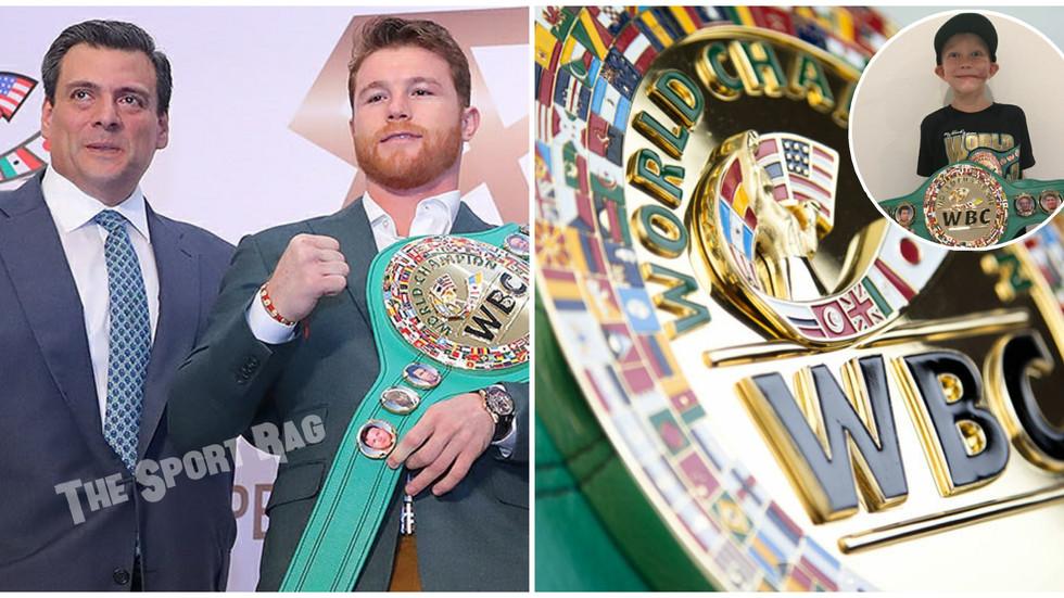 "Canelo made Bridgerweight ""Franchise Champion"" by WBC"