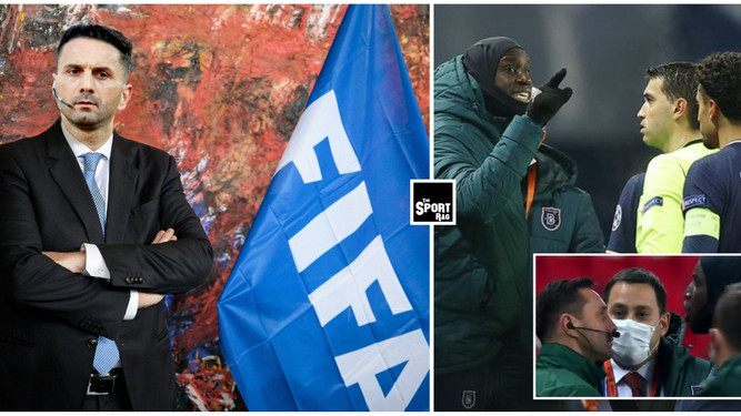 Racist fourth official from PSG/Istanbul game appointed new President of FIFA