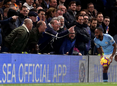 Chelsea ban 40,567 fans for not joining in Sterling racial abuse