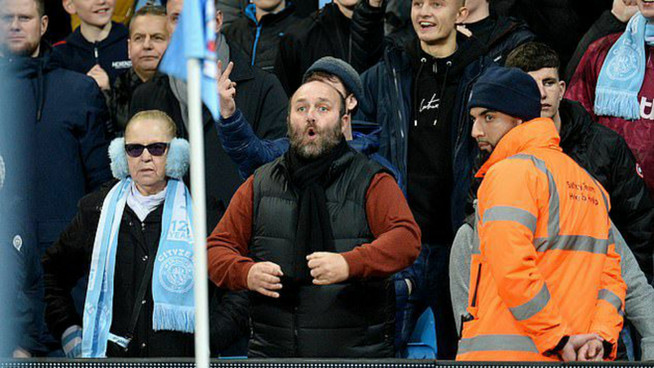 City fan released by police after claiming he identifies as a monkey