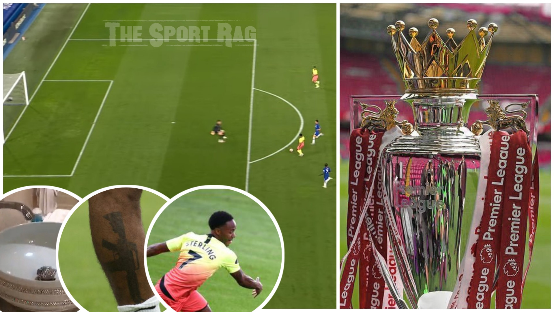 SELFISH Sterling ROBS Liverpool of Title Limelight, says Daily Mail