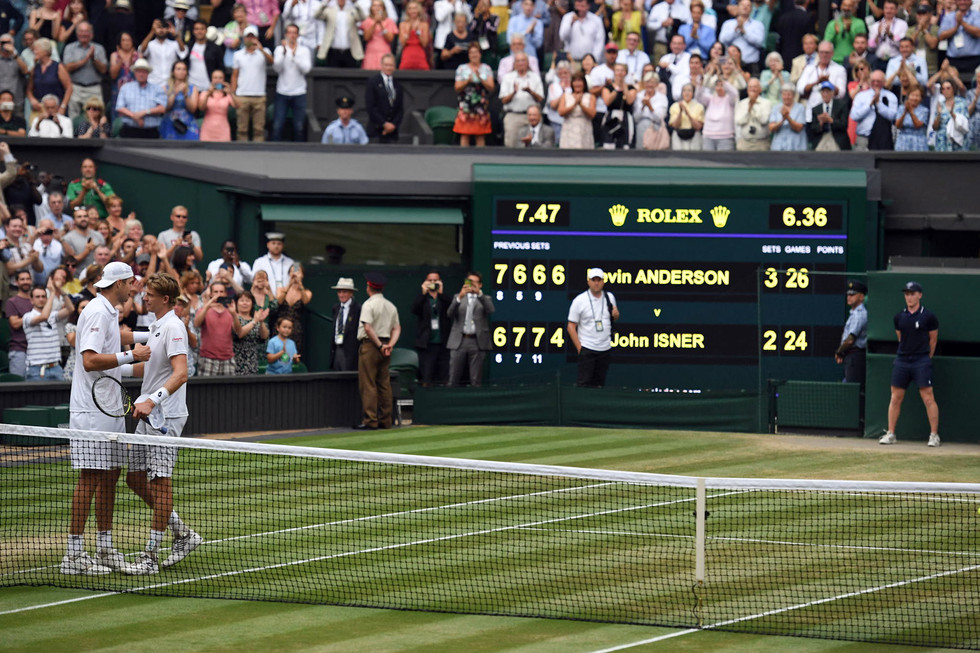 Kevin Anderson Beats John Isner In Most Exciting* Match Of All Time!
