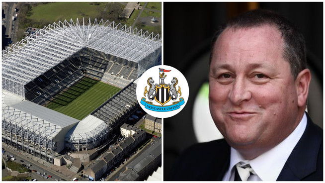 """Get used to this face, you set of Geordie bastards"" - Mike Ashley"