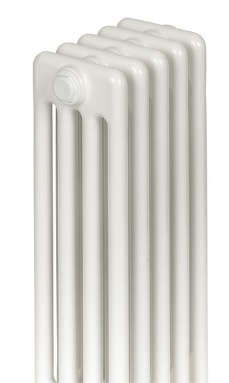 Central Horizontal White 4 Column