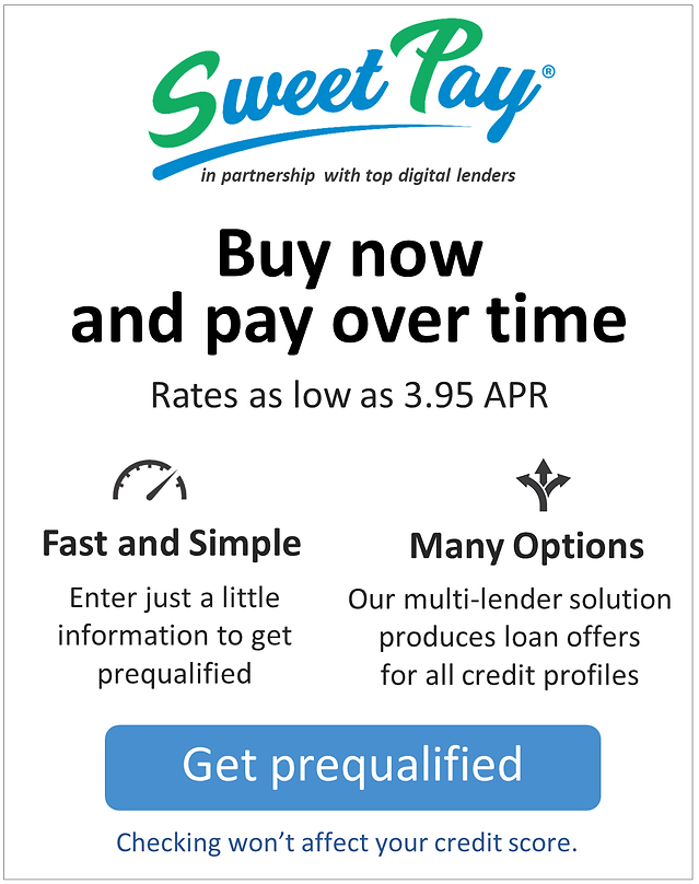 SweetPay  - Website Graphic for Merchant