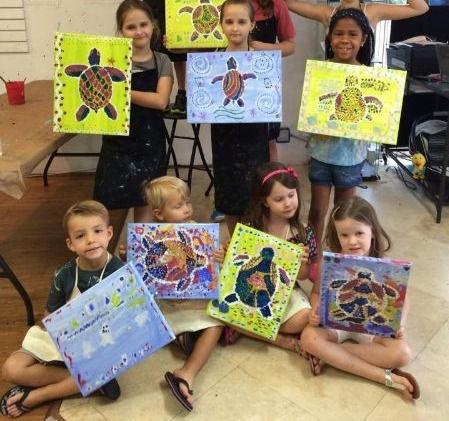 Children Art classes ages 4-7