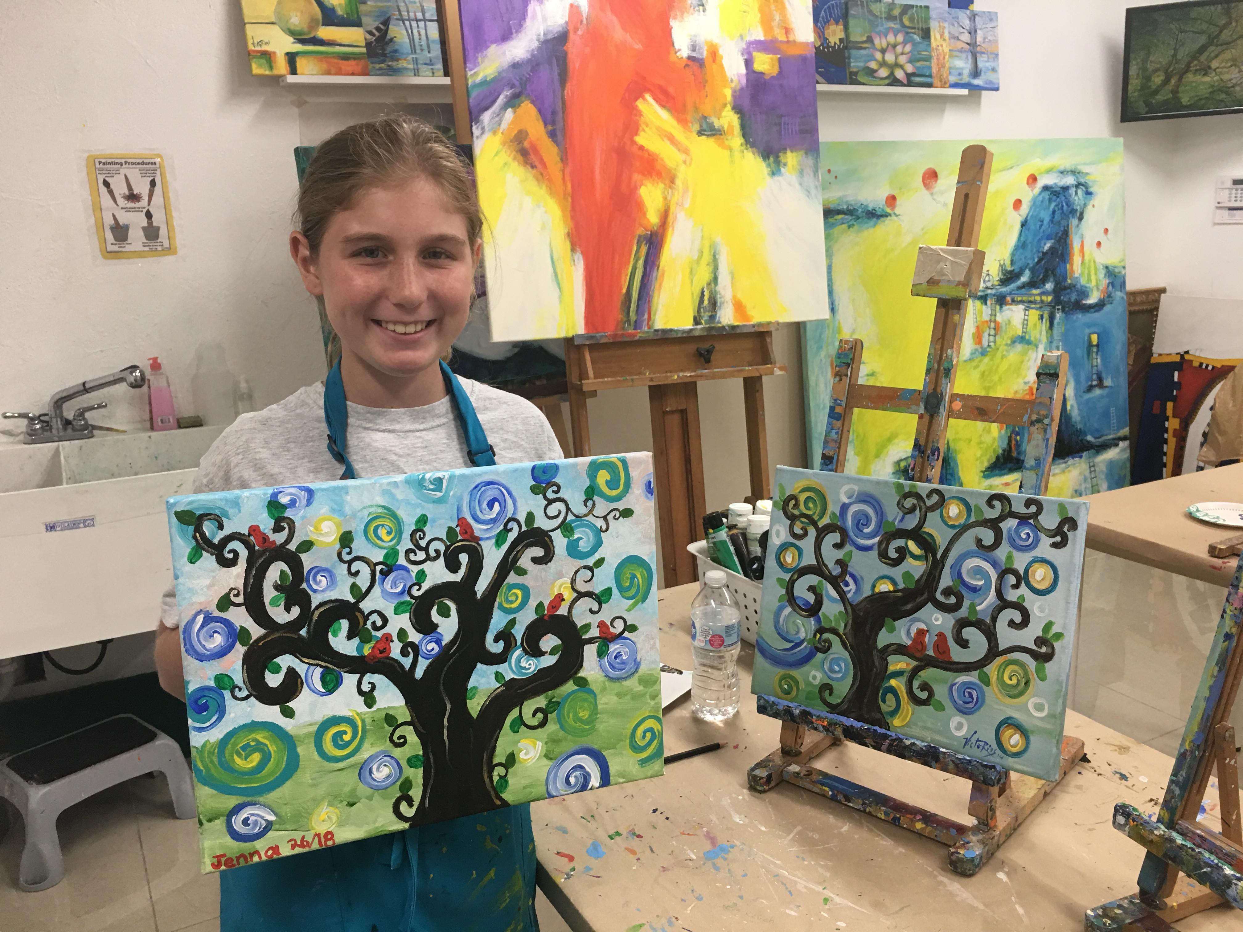 Art Classes Ages 8-14