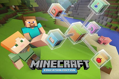 minecraft edu live      Sessions 1-10