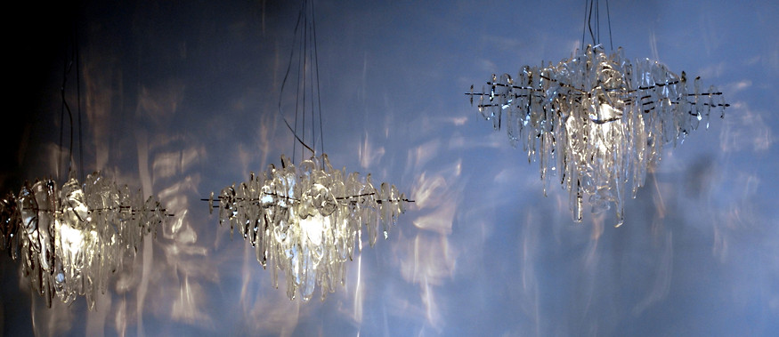NEONIS-LIGHTING Glacier Diamond Chandeliers