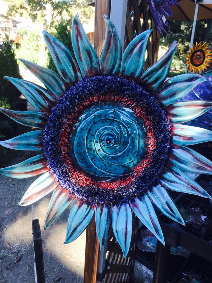 Sunflower Iceburg Blue