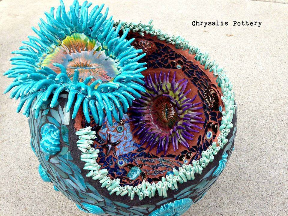 Sea Anenome Garden Ball