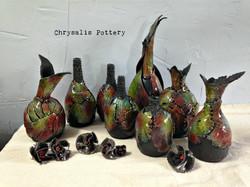 Leaf Vases