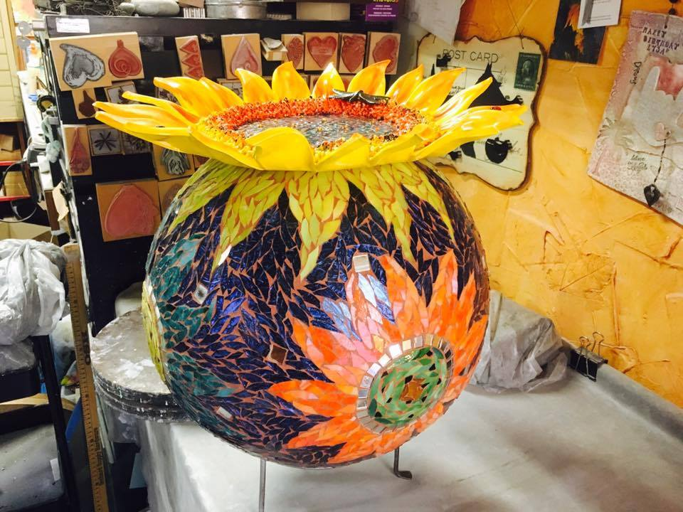 Sunflower Garden Ball