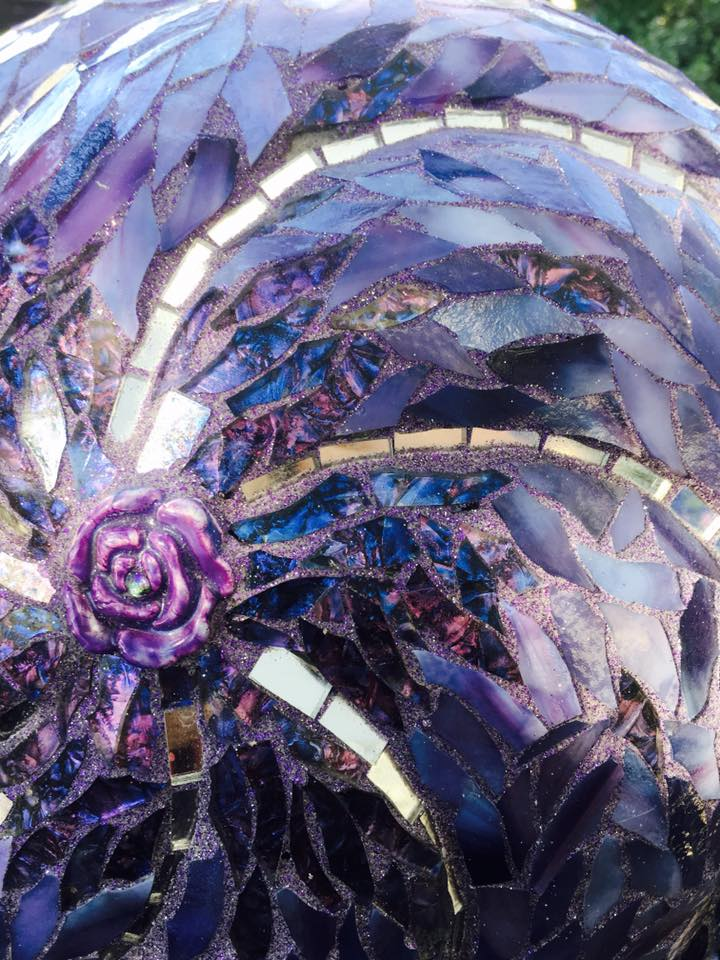 Purple Garden Ball