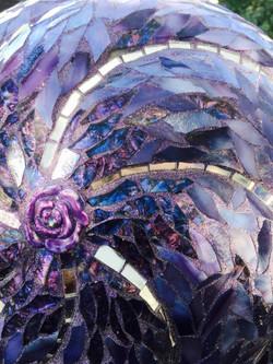 Purple Garden Ball