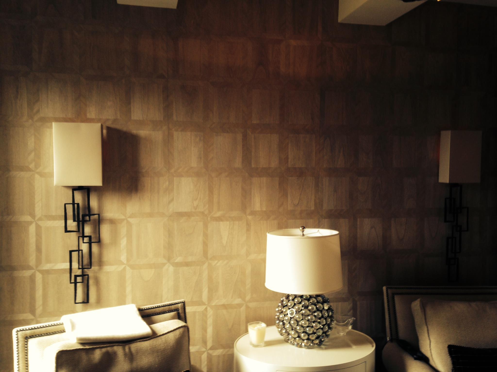 Wallpapering Job  18 Gramercy Park