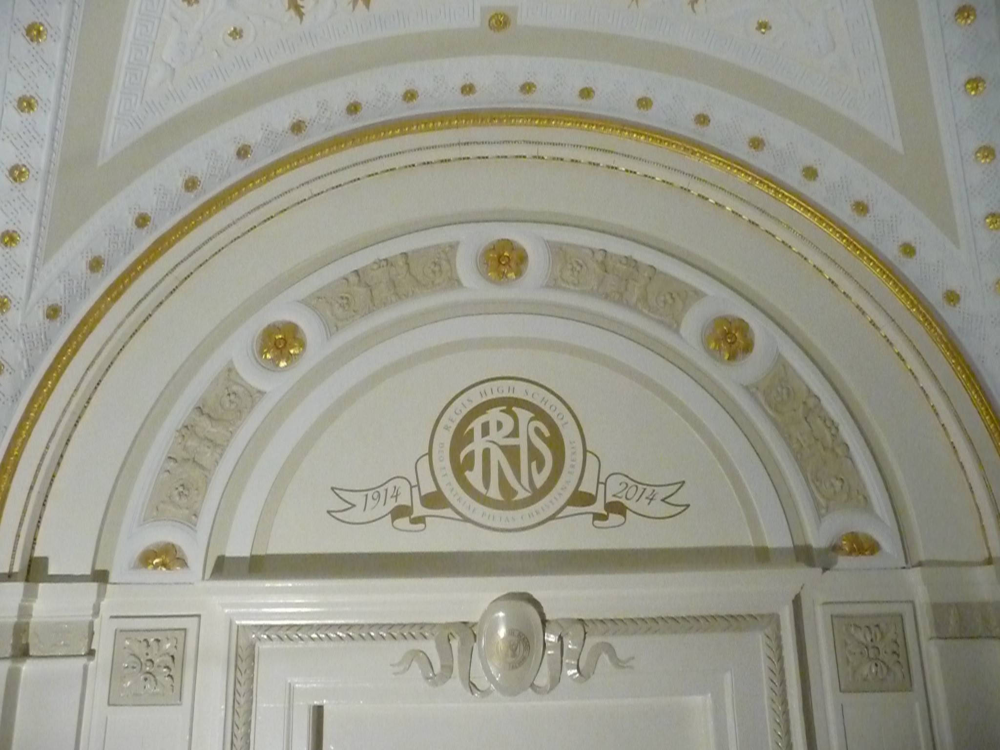 Repainting Ceiling Regis High