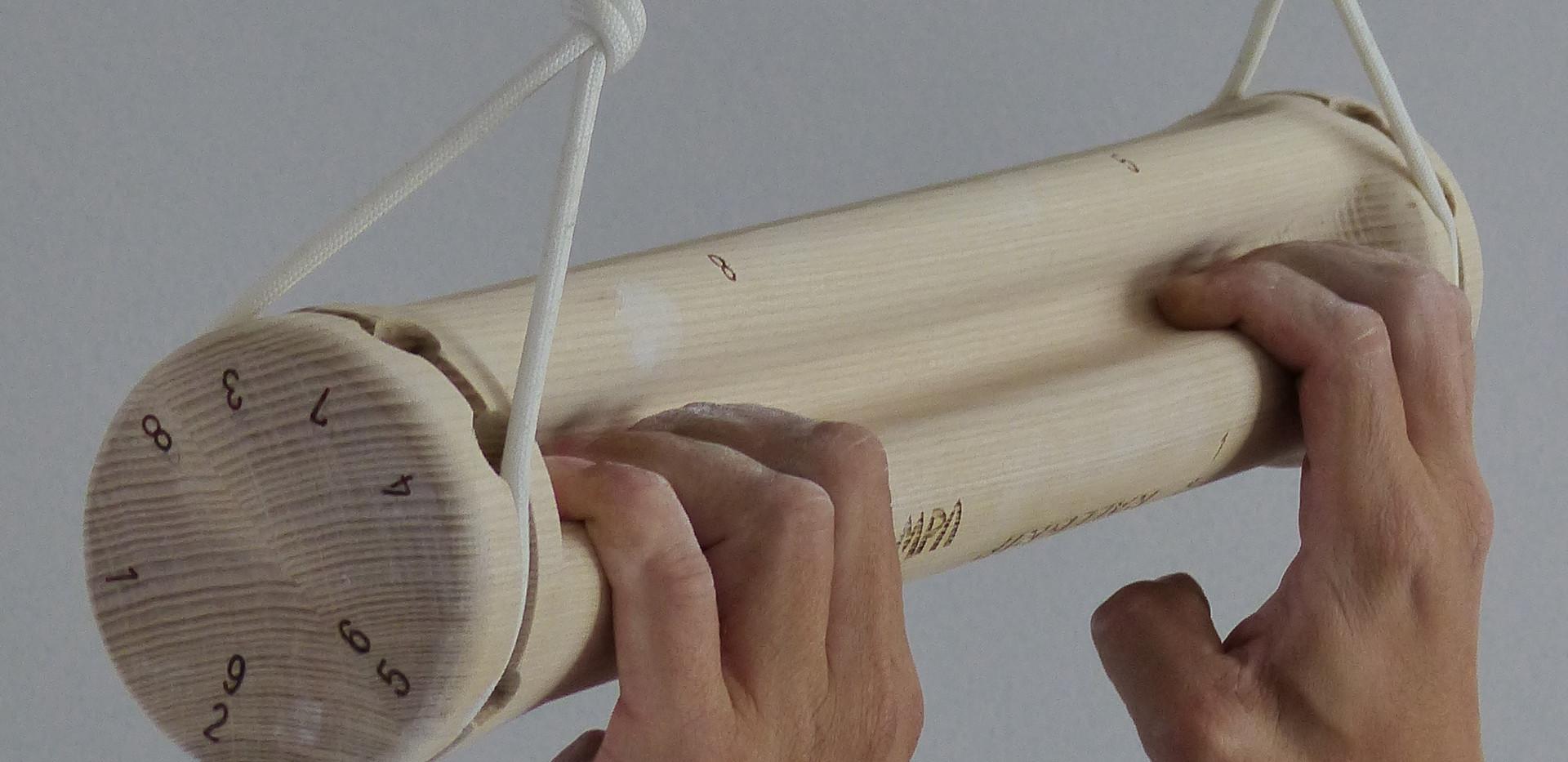 RallGrip Portable fingerboard