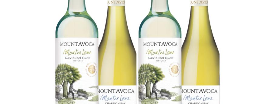 Moates Lane Mixed White wines - Pack of 6 Bottles